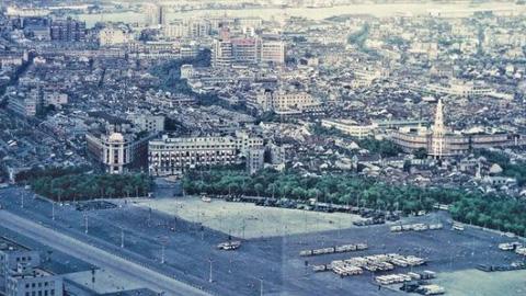 俯瞰80年代的上海