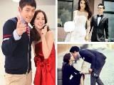 事业爱情双丰收的韩星情侣