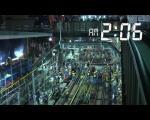 """视频:惊呆了!日本人仅用3小时半将火车""""地上"""