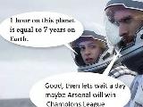 英超《星际穿越》小剧场,阿森纳利物浦夺冠在
