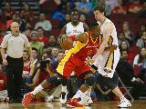 今日NBA数据:火箭vs鹈鹕 浓眉30+14+5哈登21
