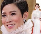 TVB女星红毯:佘诗曼钟嘉欣甜腻 徐子珊田蕊妮