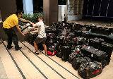 国足抵达堪培拉备战朝鲜 行李晚到训练取消