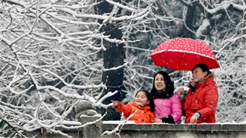 中东部降雪