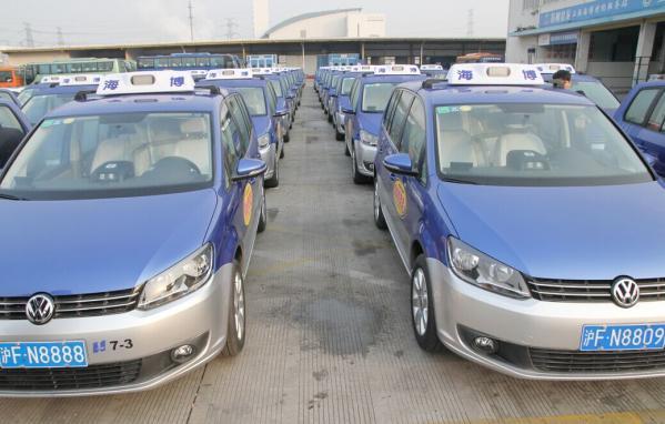 """途安世博出租车""""陆续报废,这曾让很多上海市民深感遗憾.如高清图片"""