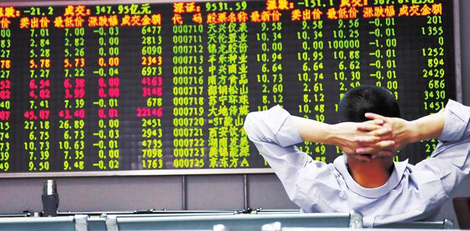 狂飙的股市