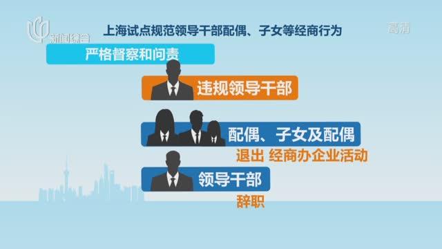 报告!关于领导干部配偶子女等经商办企业规定
