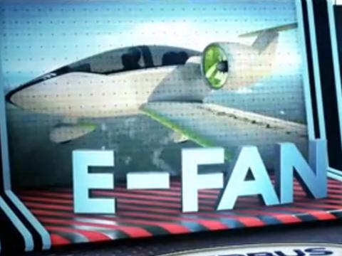 E-FAN电力飞机