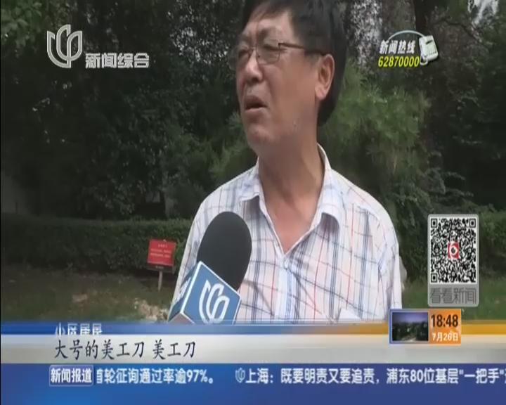 虹口:老夫妻16楼高坠身亡  警方介入调查
