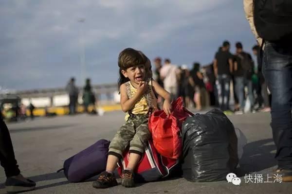 叙利亚3岁小难民伏尸海滩