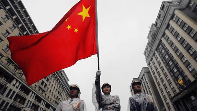 中国三军仪仗队女兵首次亮相海外