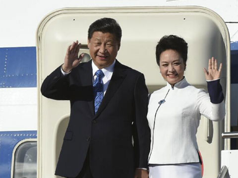 In pictures: Chinese president visits U.S.