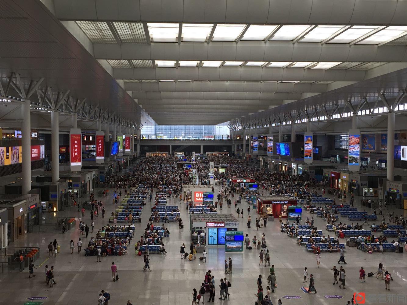 上海铁路国庆当天将迎史上最大客流 站方提醒旅客留足提前量