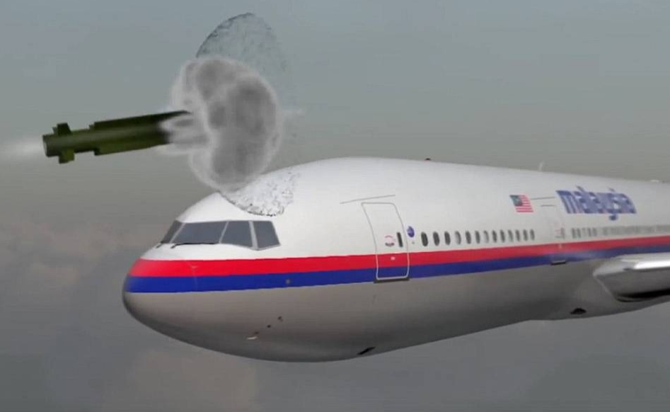 MH17空难调查:动画还原被击落过程