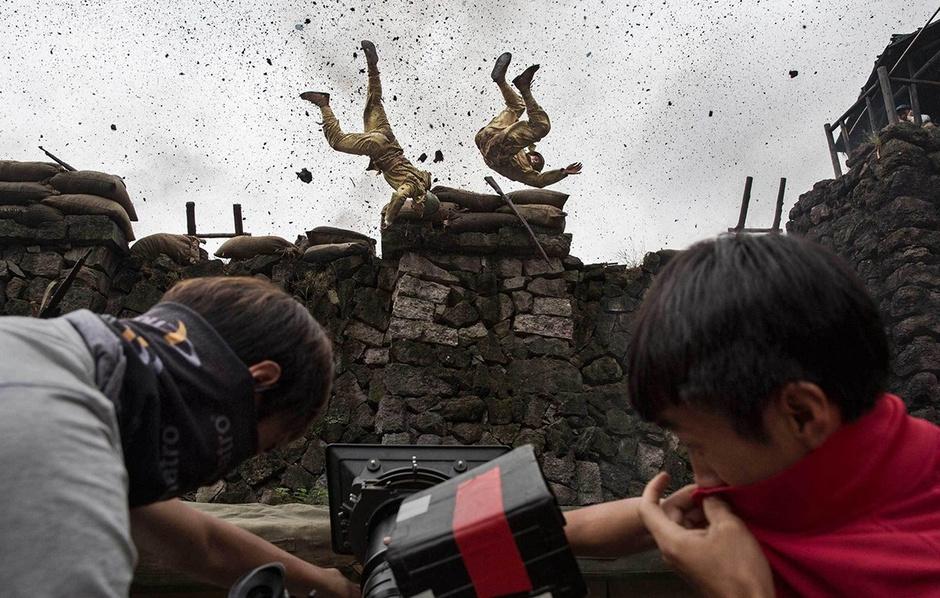 中国抗日剧场景入选时代周刊2015年度图片