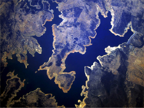 2015年Reuters年度图片:鸟瞰地球
