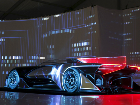 美国:乐视超级汽车FF zero1首次亮相