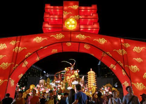 世界多国举行活动 迎接中国新年