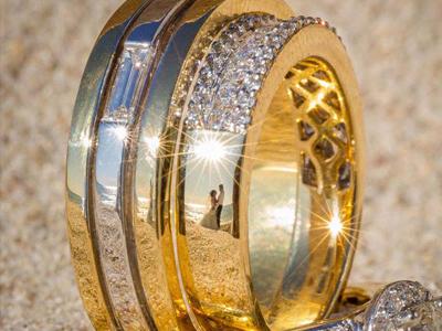 """""""戒指上的婚礼"""" 另类结婚照品味浪漫中的约定"""