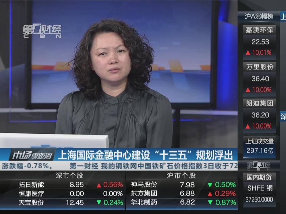"""上海国际金融中心建设""""十三五""""规划浮出"""