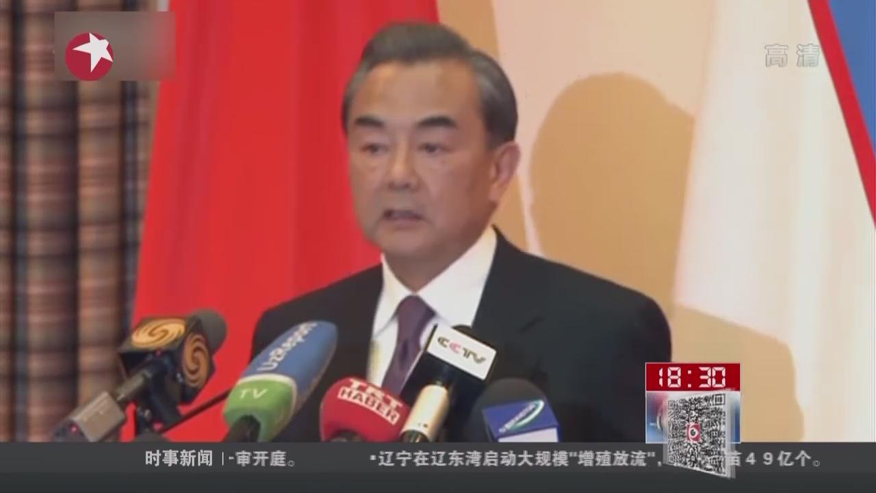 王毅:中国对南海问题立场完全符合国际法