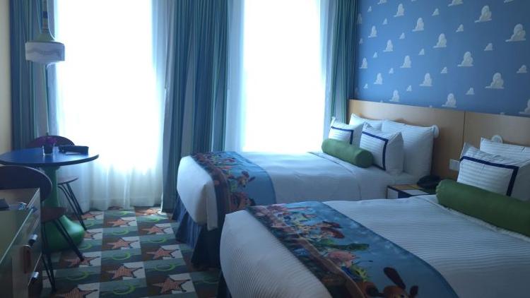 探访上海迪士尼玩具总动员酒店 客房充满动画元素