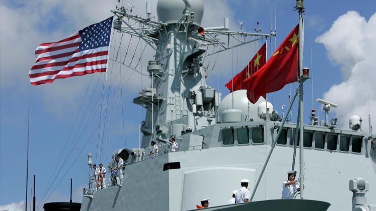 """中国海军舰艇抵达夏威夷参加""""环太平洋-2016""""演习"""