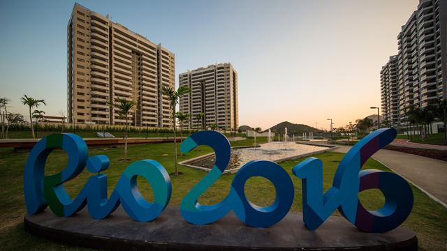 里约奥运村正式开门迎客