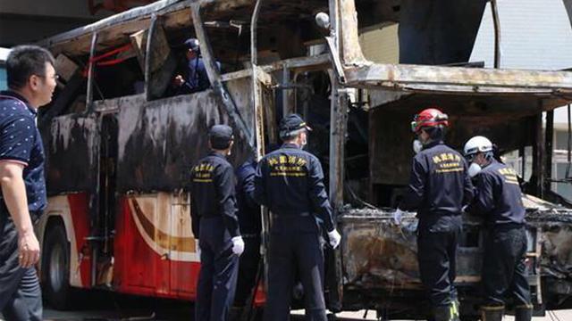大陆游客在台车祸:发现汽油助燃物