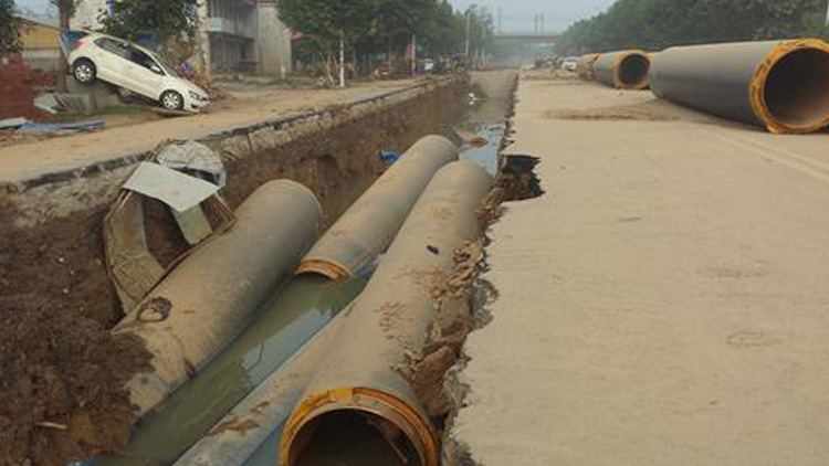 直击灾后大贤村:村民哭诉家里什么都没有了