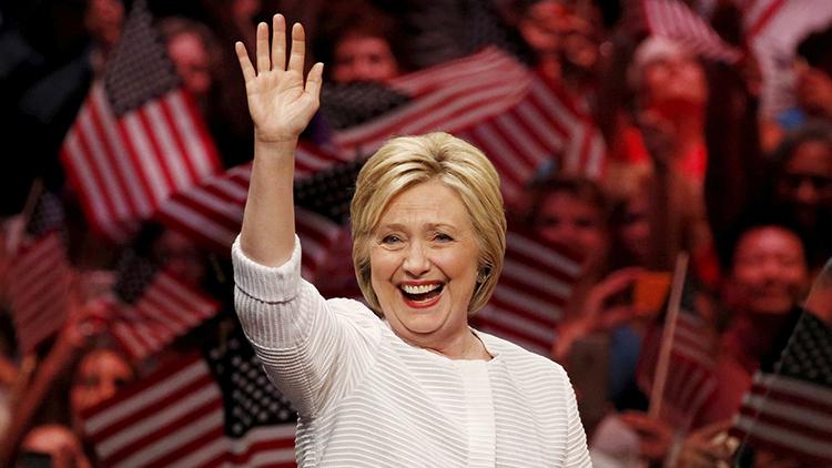 希拉里·克林顿正式获得美国总统选举民主党候选人提名