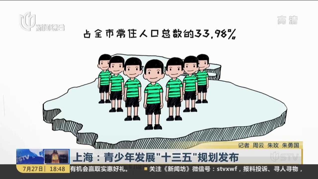"""上海:青少年发展""""十三五""""规划发布"""