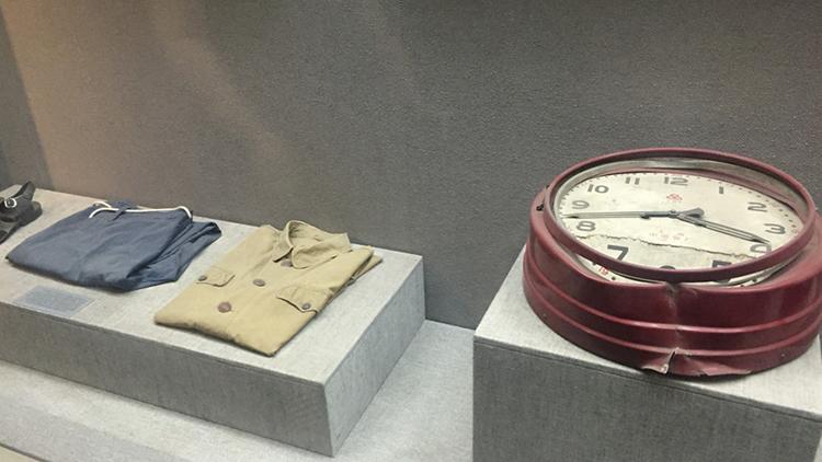 Knews记者直击:唐山抗震纪念馆陈列物品展示