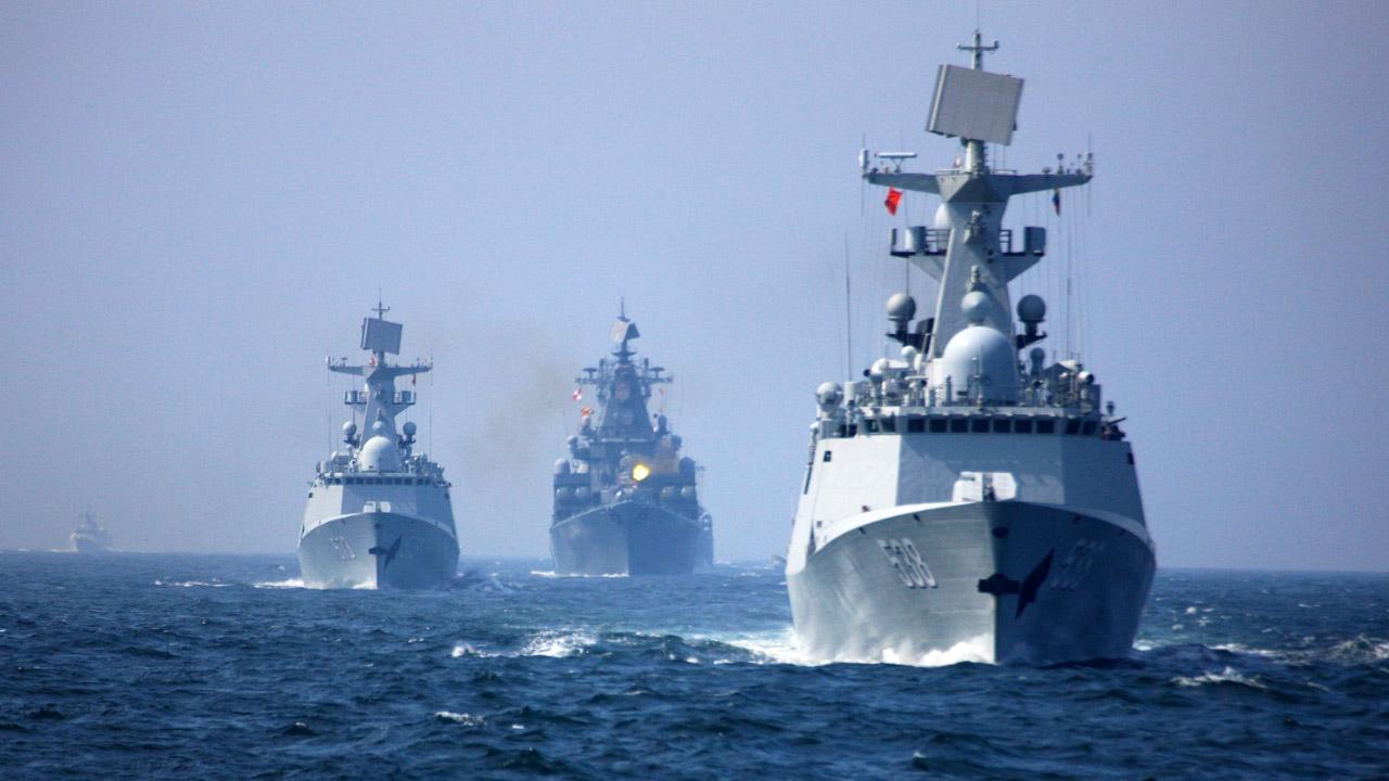 国防部:中俄两国海军将于9月在南海举行联合军事演习