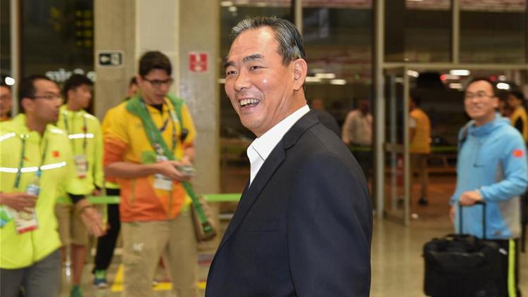 中国体育代表团抵达里约