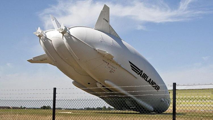 """全球最大飞行器""""飞天屁股""""发生事故 上演最慢坠机"""