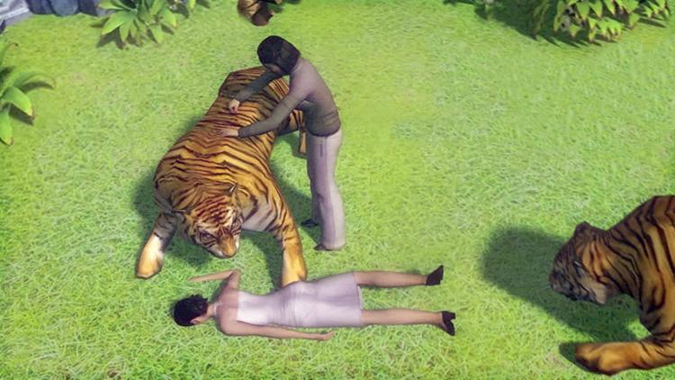 惊心动魄!3D动画还原八达岭动物园老虎咬人事件细节