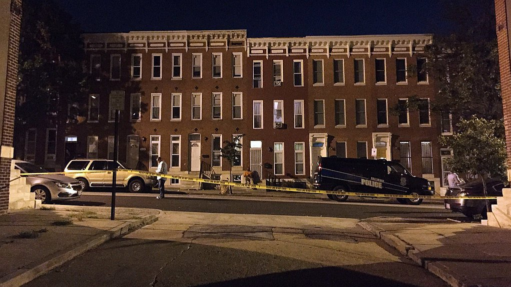 美国巴尔的摩发生枪击案致8人受伤 包括一名3岁女童
