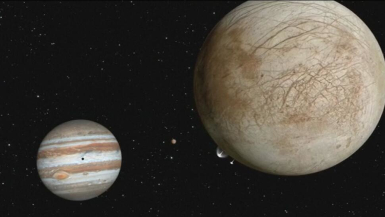 "NASA重大发现!木卫二疑有""喷泉""喷出"