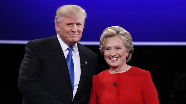 视频|希拉里特朗普嘴炮技能MAX 240秒看完美国大选首场辩论