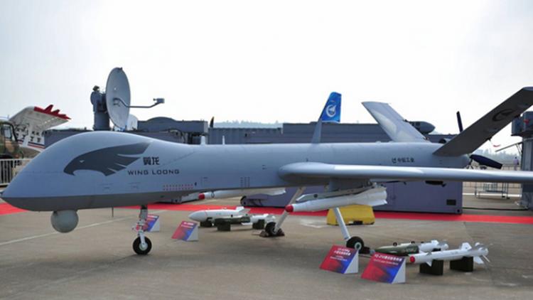 中国无人机称霸全球军用市场 美媒:只能服气!