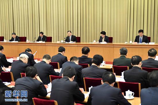 中共中央政治局常委、中央书记处书记刘云山作总结讲话