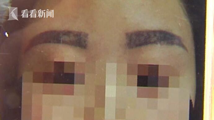 """女子去纹眉 结果被人说像""""关公"""""""