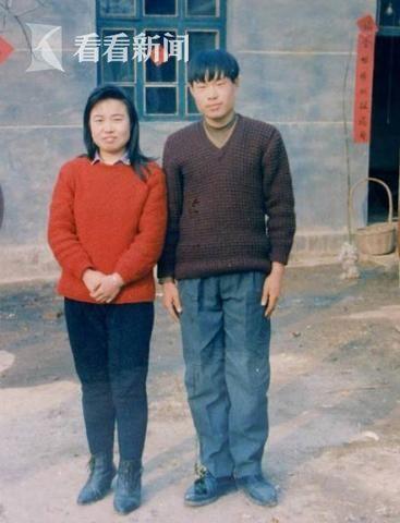 聂树斌和姐姐聂淑惠合影