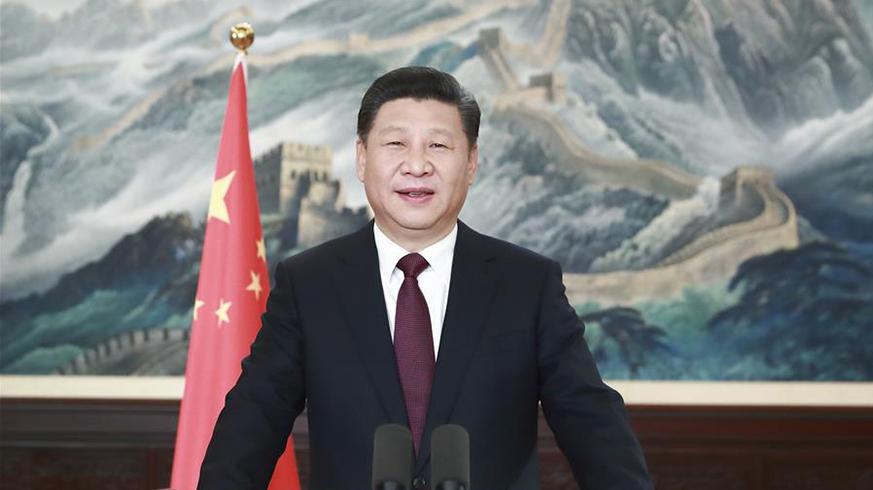 新年前夕,国家主席习近平通过中国国际广播电台、中央人民广播电台、中央电视台、中国国际电视台和互联网,发表二〇一七年新年贺词。