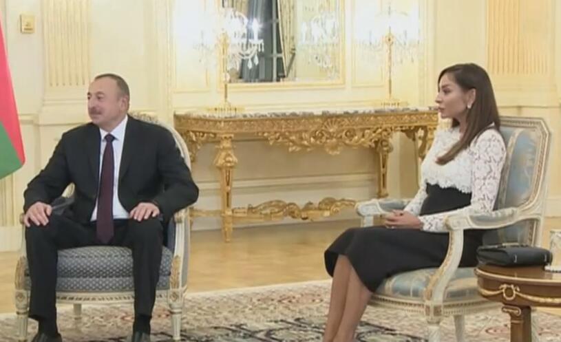 举贤不避亲 阿塞拜疆第一夫人升任第一副总统