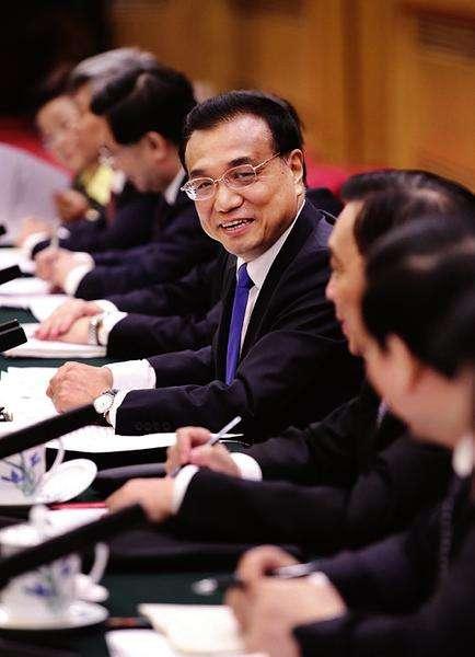 总理在陕西团