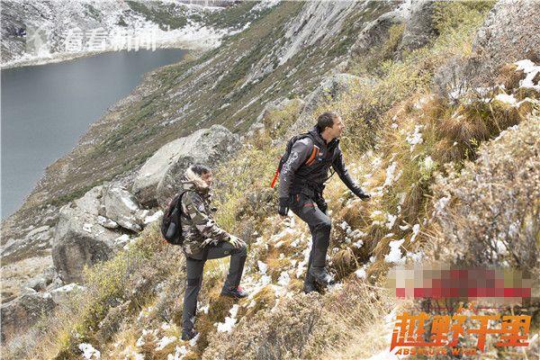 陡坡攀爬惊险万分