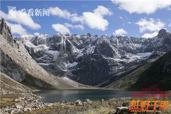范志毅登上海拔5000米雪山