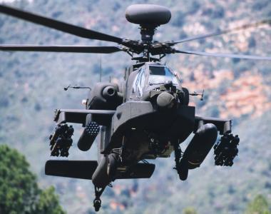 美阿帕奇直升机